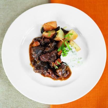 Lamb Stew with New Potatoes Recipe