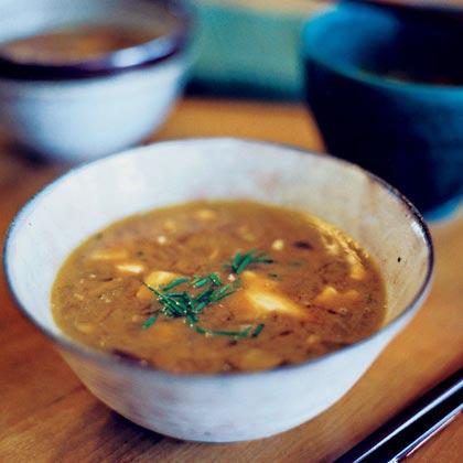 Fennel-Ginger Miso Soup