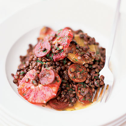 Lentil Stew with Oranges