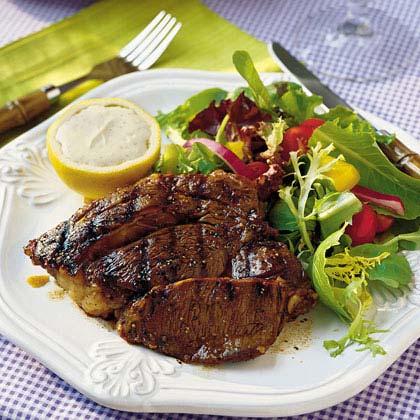 Grilled Steaks BalsamicoRecipe
