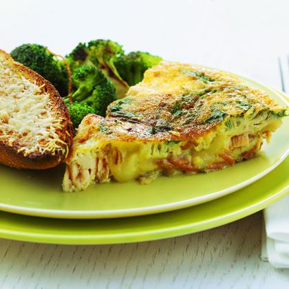 Salmon and Sweet-Potato FrittataRecipe