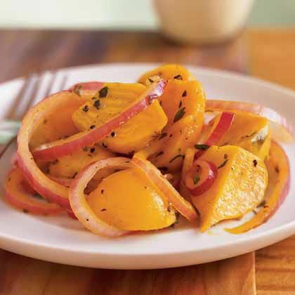 Roasted Beet Salad with Tarragon Vinaigrette