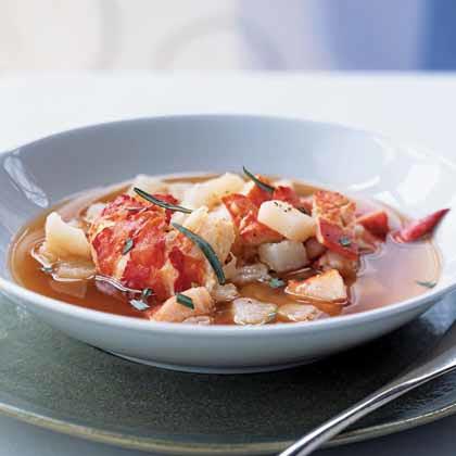 Lobster Bouillabaisse Recipe