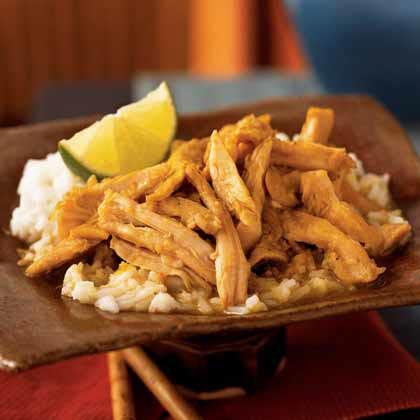 Chicken Samlá (Cambodian Chicken Curry)