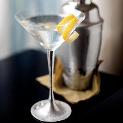 Classic Dry Martini RecipeUnlike James Bond's favorite cocktail, this version is stirred, not shaken. Chill vodka in the freezer so it's as cold as possible.