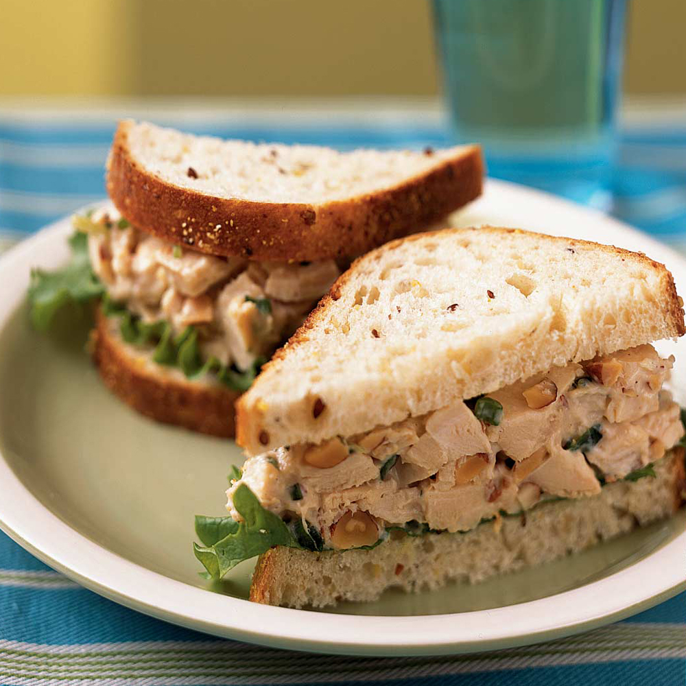 Rosemary Chicken Salad Sandwiches Recipe | MyRecipes