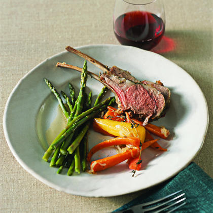 Roast Rack of Lamb Recipe | MyRecipes