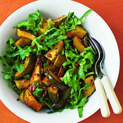 Roasted Acorn Squash SaladRecipe