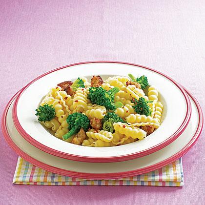 Cavatelli with Broccoli and Sausage Recipe