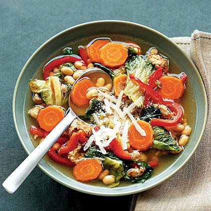 chorizo-bean-soup Recipe