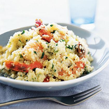 shrimp-couscous-risotto