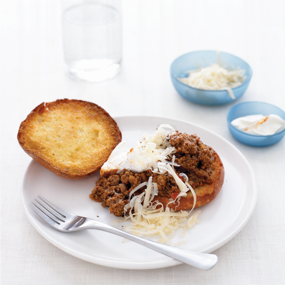 Not-So-Sloppy Joes Recipe