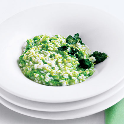 Sweet Pea Risotto Recipe