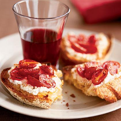 ricotta-tomato-toast Recipe
