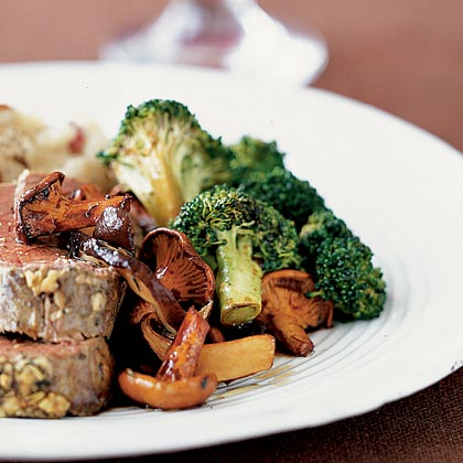 Roasted Balsamic Broccoli