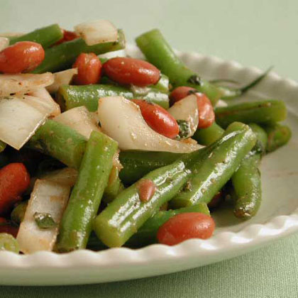 Green Bean Salad with Vidalia Onion and Mint Recipe