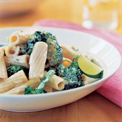 Sesame Broccoli Pasta