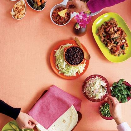 Burrito Bar Recipe