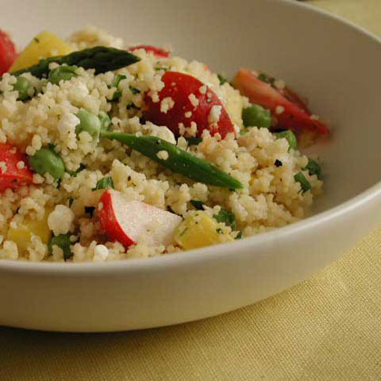 Spring Vegetable Couscous