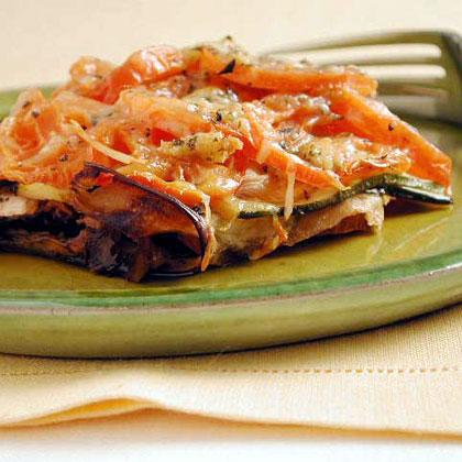 Eggplant and Tomato GratinRecipe