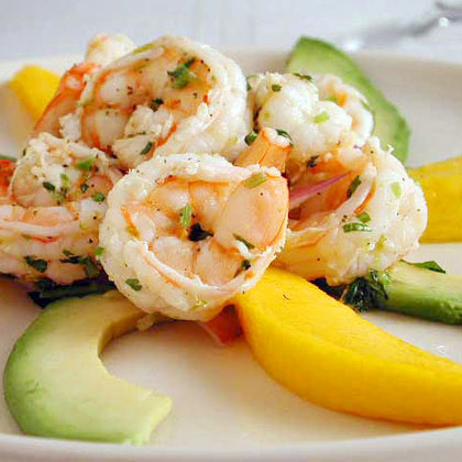 Shrimp Salad with Mango and Avocado