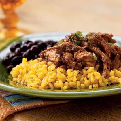 Chicken and mole recipe