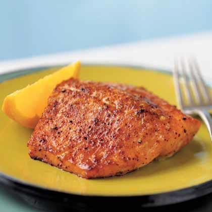 Sweet Orange SalmonRecipe