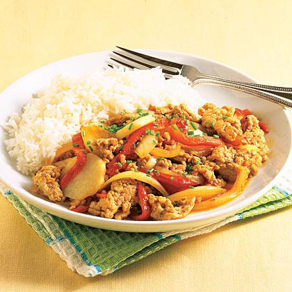Pork and Pepper Stir-fry Recipe