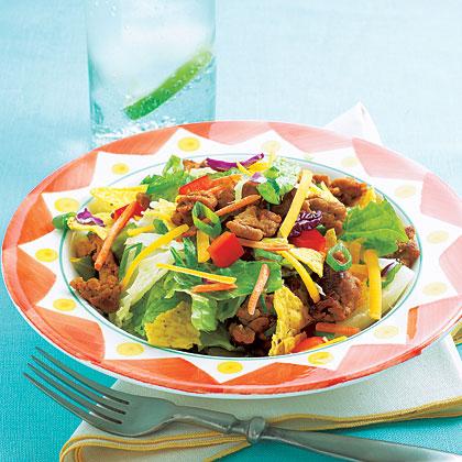 Turkey Taco SaladRecipe