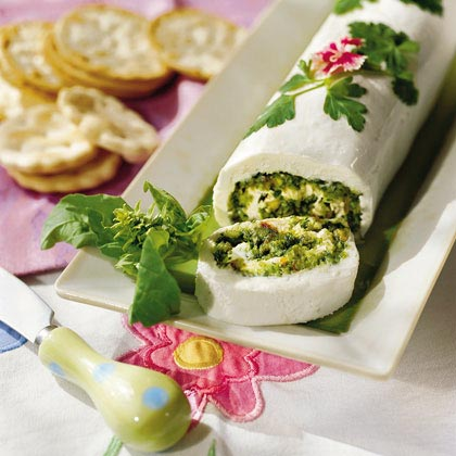 Basil-Cheese RouladeRecipe