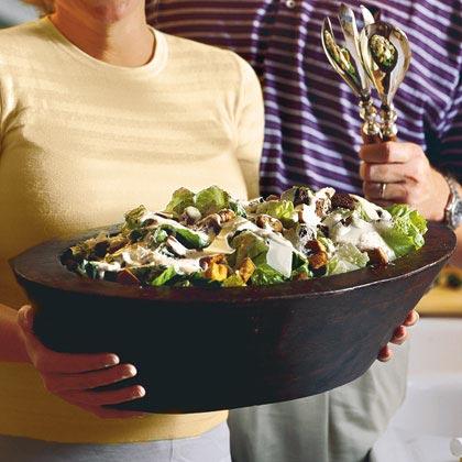 Easy Spicy Caesar Salad