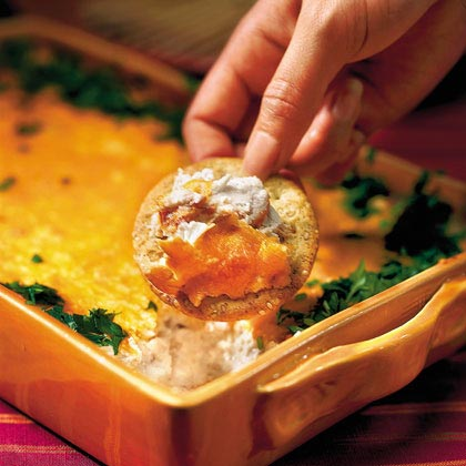 Hot Crab Dip Recipe | MyRecipes