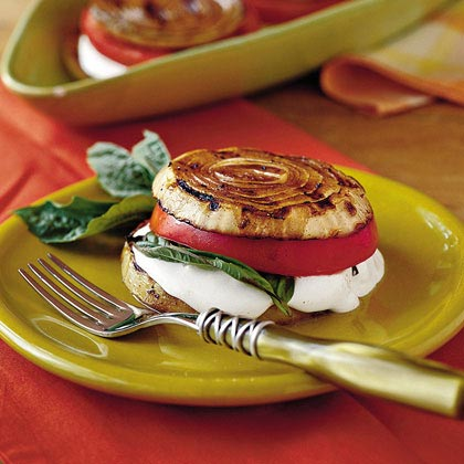 Balsamic Onion Stacks