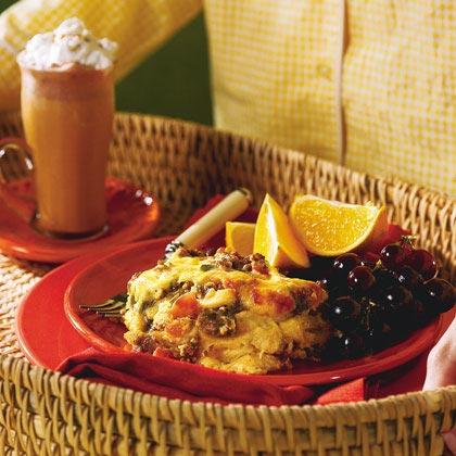 Southwest Breakfast Strata