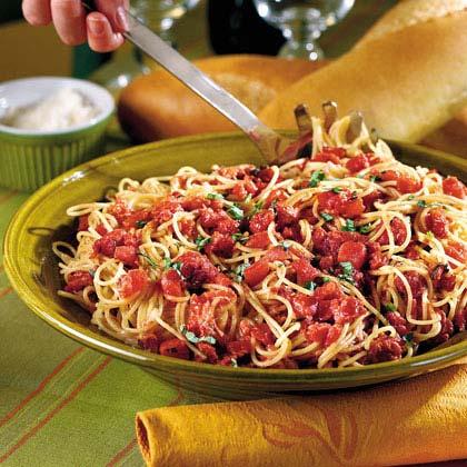 Red Wine-Tomato Pasta