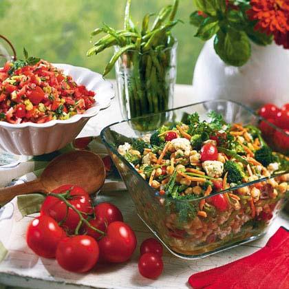 Hot Tomato Salad Recipe
