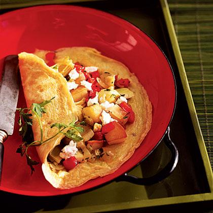 artichoke-omelet