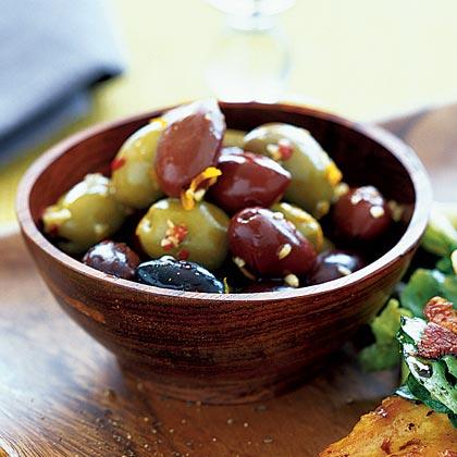Olives and Orange Peel
