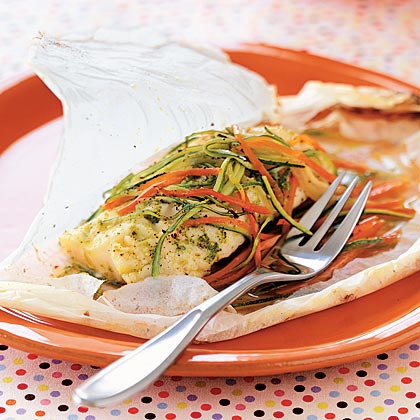 Parchment-baked Chicken & Arugula, Sage, & Rosemary Recipe ...