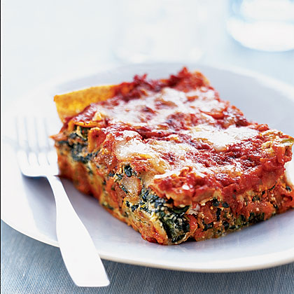 sausage-spinach-lasagna Recipe