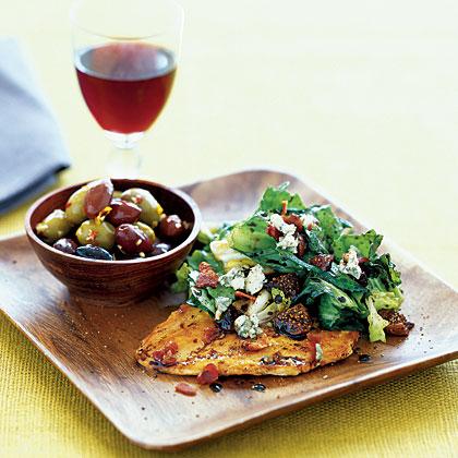 escarole-fig-salad Recipe