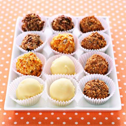 Ice Cream Truffles Recipe | MyRecipes