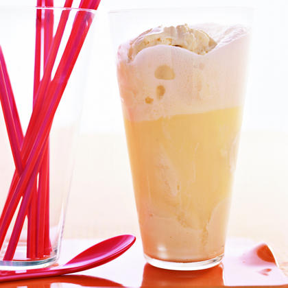 Lemon Soda Float Recipe   MyRecipes
