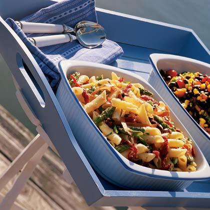 Pasta Salad with Asparagus and Pecorino