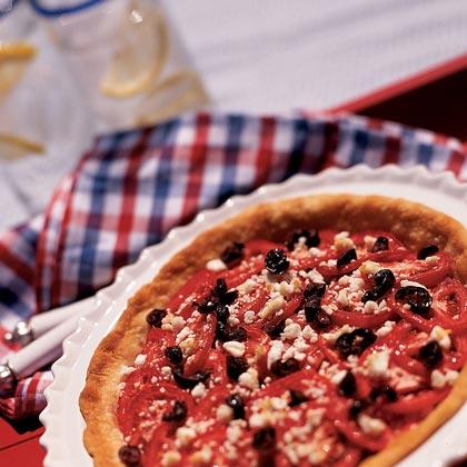 Tomato-and-Onion Pie