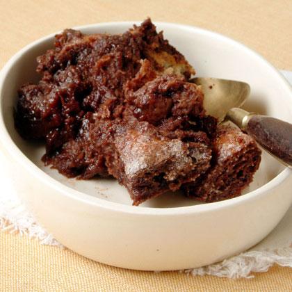 Chocolate-Cinnamon Bread Pudding