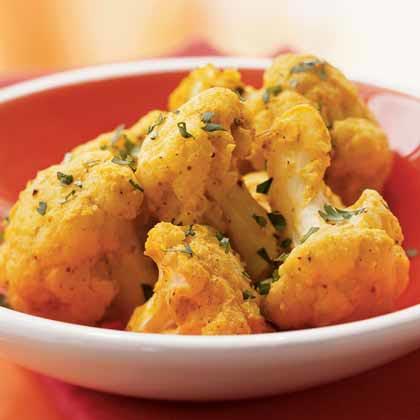 Tandoori-Style Cauliflower (Tandoori Gobhi)Recipe