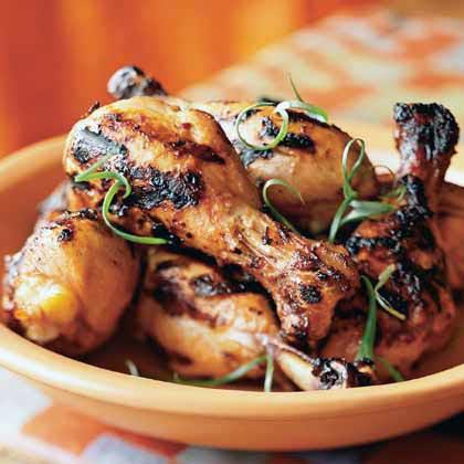 Marinated Grilled Chicken Legs
