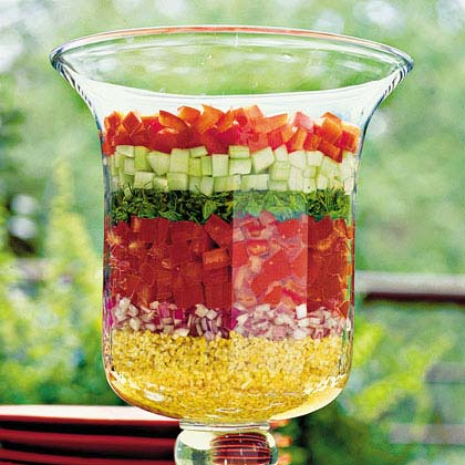 Layered Lebanese SaladRecipe