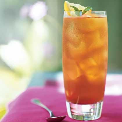 Lemon Verbena Iced Tea